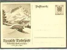 x04642; Olympische Winterspiele 1936. GA.