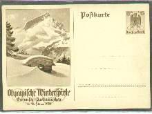x04645; Olympische Winterspiele 1936. GA.