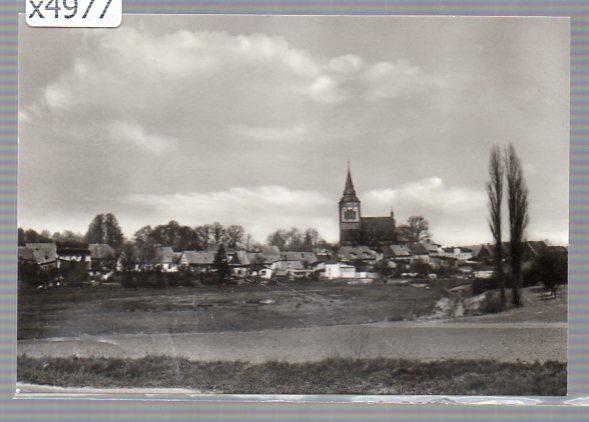 x04977 Lassan (Kr. Wolgast) Stadtansicht von Süden.