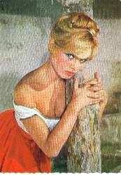 x05174; Brigitte Bardot.