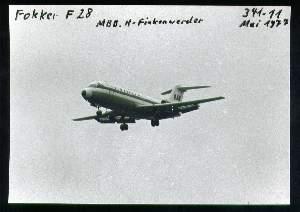 x05296; Fokker F28. Keine AK.