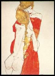 x05352; Egon Schiele. Mutter und Tochter.