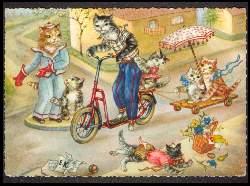 x05823; Katzenfamilie.