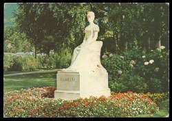x06206; Meron Promenade Denkmal der Kaiserin Elisabeth von Österreich.