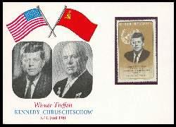 x06300; Wiener Treffen Kennedy Chruschtschow. Keine AK.