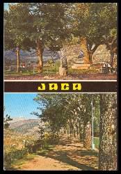 x06317; Jaca. Promenade de la Cantera et Arbre de la Sante.