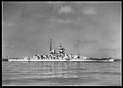 x06318; Schlachtschiff Gneisenau.