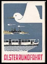 x06656; Alsterrundfahrt. Keine AK. Flugblatt.