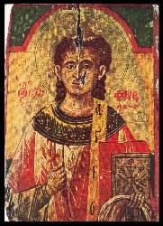 x06739; St. Stephanus, Ikone.