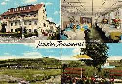 x07081; Oberzeuzheim Westerwald. Pension Tannenwald.