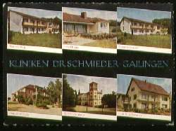 x07552; Gailingen. Kliniken Dr. Schmieder.