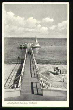 x08258; Niendorf/Ostsee. Seebrücke.