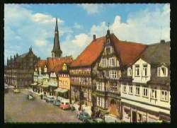 x09490; Hameln/Weser. Osterstraße mit Museum u. Hochzeitshaus.