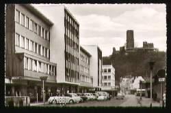 x10040; Bad Godesberg Blick zur Godesburg.