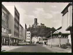 x10051; Bad Godesberg Blick zur Godesburg.