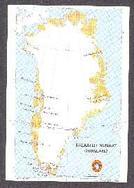 x10716; Kalaallit Nunnaat. Gronland.