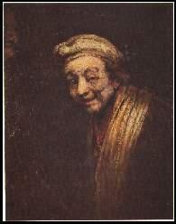 x11029 ; Rembrandt: Bildnis eines lachenden Mannes.