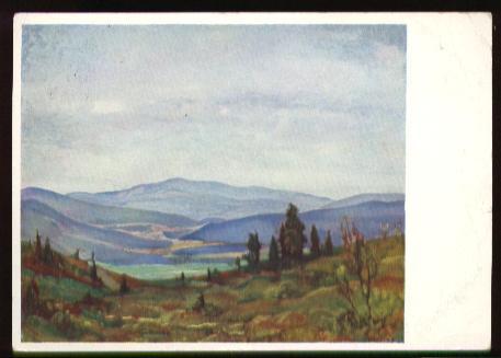 x11607; Kolbe.E. Im Bayrischen Wald.