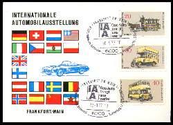 x11695; Internationale Automobilausstellung. Frankfurt 1978. Keine AK.