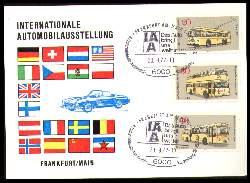 x11696; Internationale Automobilausstellung. Frankfurt 1978. Keine AK.