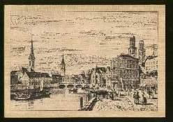 x13092; Altstadt. Holzkarte.