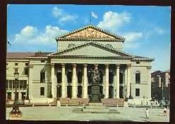 x13161; München. Nationaltheater.