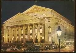 x13165; München. Nationaltheater. Bayerische Staatsoper.