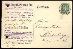 x13824; Pössneck. Thür. Norbert Dietrich. Keine AK. Firmenkarte.