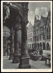 x13869; Münster. Prinzipalmarkt.