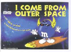 x14042; I come from outer space. M&M´s.
