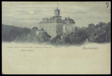 x14070; Fürstenstein. Neues Schloss.