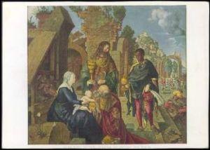 x14198; Albrecht Dürer. Anbetung der Heiligen Drei Könige.