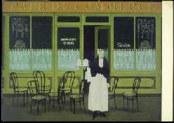 x14202; JAN BALET. Cafe du Commerce.