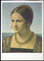 x14253; Dürer. Bildnis einer jungen Frau.