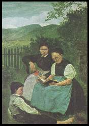 x14557 ; HANS THOMA (1839 1924) Abendstunde.