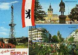 x14672; Berlin. Kurfürstendamm. Schloss Charlottenburg. Funkturm