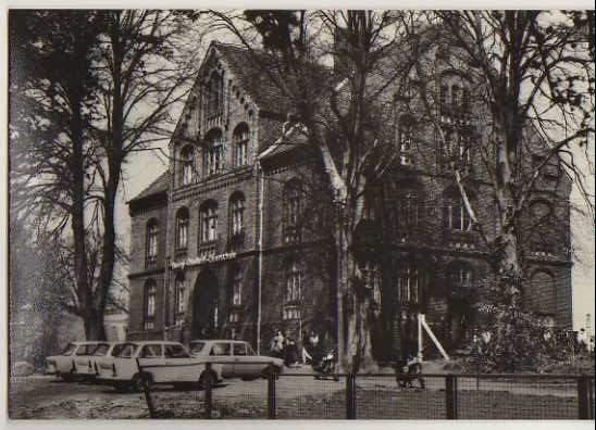 x14726; Lassan (Kr.Wolgast). Georgij Dimitrow Oberschule.