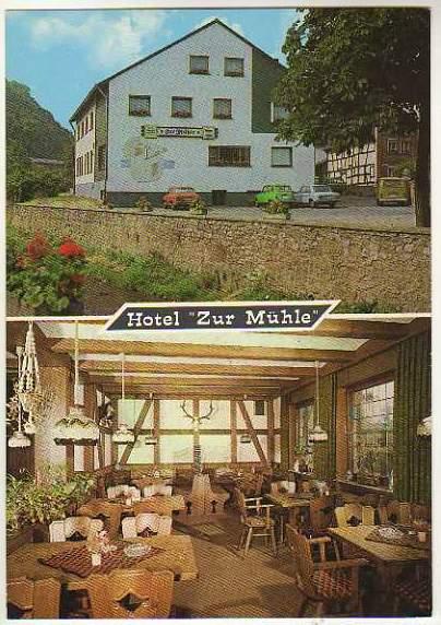 X14753 Bad Munstereifel Iversheim Hotel Zum Muhle