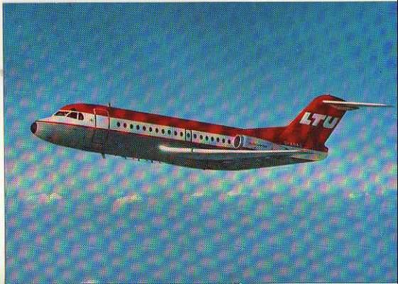 x14789; Fokker F28. .