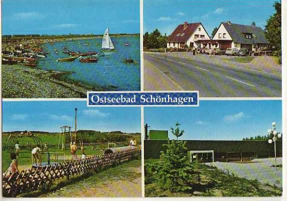 x14824; Ostseebad Schönhagen.