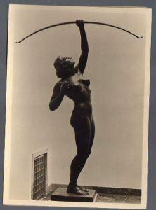 x15010; Schuhmacher, Mathias. Bogenschützin. Haus der Deutschen Kunst Nr. 041.