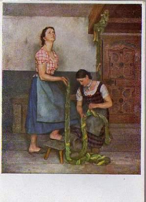 x15060; Hilz, Sepp. Bäuerliche Trilogie: Die Mägde. Haus der Deutschen Kunst Nr. 185.