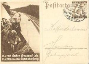 x15926; Bahnpost; Berlin – Hamburg Zug 198. 28.12.36
