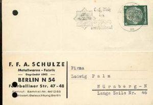 x16026; Luftfahrt Stempel:Lass Dich im Luftschutz ausbilden! Berlin 19.5.39;