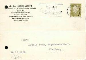 x16046; Funk Stempel: Werdet Rundfunkteilnehmer . Köln 1,19.12.32.