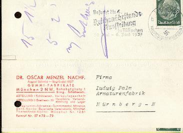 x16125; Besucht die 4 Reichsnährstands Ausstellung in München 30.Mai bis 6 1937 Juni München 1937