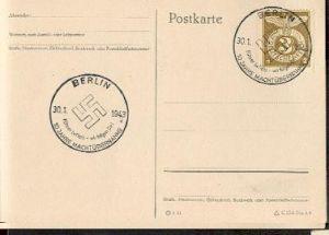 x16194; NS Zeit: Führer befiehl – wir folgen dir!. 10 Jahre Machtübernahme. Berlin 30.01.1943.