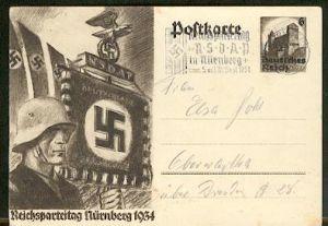 x16238; NS Zeit: Reichsparteitag der NSDAP ... Nürnberg 11934
