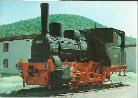 x16306. Baureihe 88. Güterzug-Tenderlokomotive T 1.