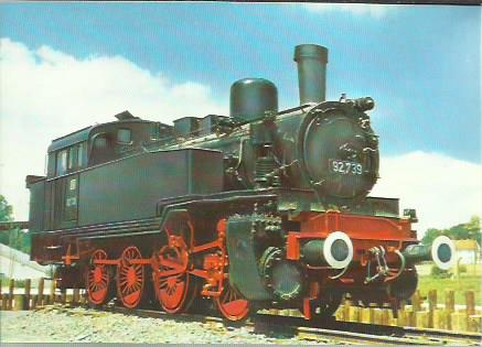 x16309. Baureihe 92. Güterzug-Tenderlokomotive T 13.